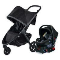 BRITAX® B-Free and B-Safe Ultra Travel System in Pewter