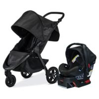BRITAX® B-Free and B-Safe Ultra Travel System in Midnight