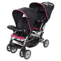 Baby Trend® Sit N' Stand® Elite Double Stroller in Optic Pink