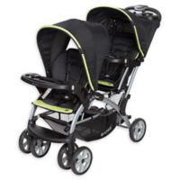Baby Trend® Sit N' Stand® Elite Double Stroller in Optic Green