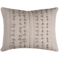 Rizzy Home Piper King Pillow Sham in Light Brown