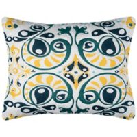 Rizzy Home Merriweather King Pillow Sham in Aqua