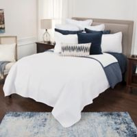 Rizzy Home Arwen Queen Quilt in White