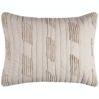 Rizzy Home Alice King Pillow Sham in Light Brown
