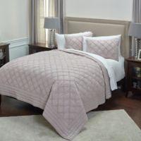 Rizzy Home Wren Twin XL Quilt in Blush