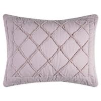 Rizzy Home Wren King Pillow Sham in Blush