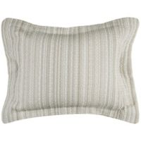 Rizzy Home Patrick King Pillow Sham in Ivory
