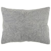 Rizzy Home Anthony King Pillow Sham in Grey