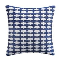 Tracy Porter® Josie Embroidered Throw Pillow in Blue
