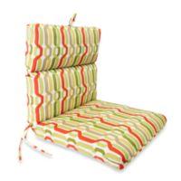 Chair Cushion in Twist Seaweed