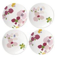 kate spade new york Nolita Blush Floral™ Tidbit Plates (Set of 4)