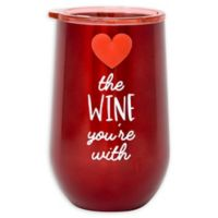 Stainless Steel Love the Wine Wine Tumbler