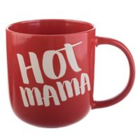 Hot Mama 18 oz. Barrel Mug in Red