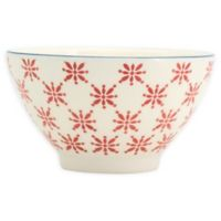 Euro Ceramics Sintra All-Purpose Bowls in Red (Set of 8)