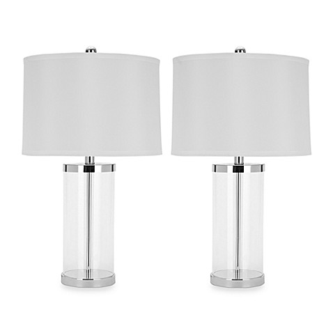 Jeanie Glass Base Lamp (Set of 2)