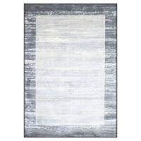 "Dynamic Rugs® Olten 9'2"" X 12'5"" Powerloomed Area Rug in Grey"