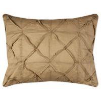 Rizzy Home Carrington Standard Pillow Sham in Khaki