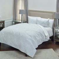 Rizzy Home Carrington Queen Quilt in White