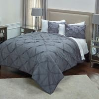 Rizzy Home Carrington Twin XL Quilt in Dark Grey