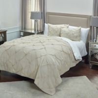 Rizzy Home Carrington Queen Quilt in Natural