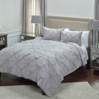 Rizzy Home Carrington Queen Quilt in Grey