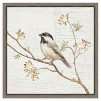 Amanti Art® Danhui Nai Flowers 16-Inch Square Framed Canvas in Grey