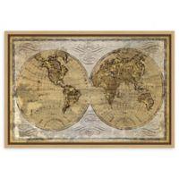Amanti Art Worldwide I by James Wiens 23-Inch x 16-Inch Framed Canvas Wall Art