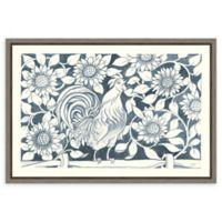 Amanti Art® Miranda Thomas Flowers 23.25-Inch x 16-Inch Framed Canvas in Grey