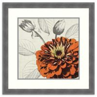 Amanti Art® Tandi Venter Flowers 24.25-Inch Square Acrylic Framed Print in Blue