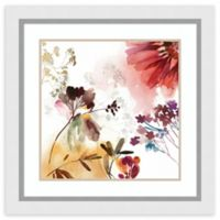 Amanti Art® Asia Jensen Flowers 27-Inch Square Acrylic Framed Print in White
