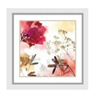 Amanti Art® Asia Jensen Flowers 29-Inch Square Acrylic Framed Print in White