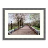 Amanti Art® Country Lane 32.25-Inch x 24.25-Inch Acrylic Framed Print