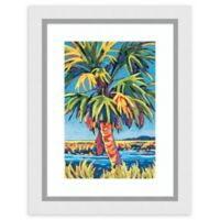 Amanti Art® Sally Evans Tropical 21-Inch x 27-Inch Acrylic Framed Print in White
