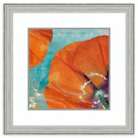 Amanti Art® Sabine Berg Flowers 26-Inch Square Acrylic Framed Print in Silver