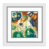 Amanti Art® Jennifer Weber Flowers 23-Inch Square Acrylic Framed Print in White
