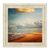 Amanti Art® Dirk Wuestenhagen Landscapes Beaches 23-Inch Square Framed Canvas in White