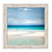 Amanti Art® Lynne Douglas Landscapes Beaches 21-Inch Square Framed Canvas in White