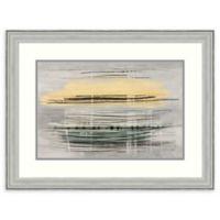 Amanti Art® Drew Sims Geometric 30-Inch x 23-Inch Acrylic Framed Print in Silver