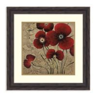 Amanti Art® Maja Flowers 22.38-Inch Square Acrylic Framed Print in Brown