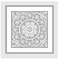 Amanti Art® Sabine Berg Geometric 25-Inch Square Acrylic Framed Print in White