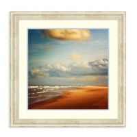 Amanti Art® Dirk Wuestenhagen Landscapes Beaches 34.25-Inch Square Acrylic Framed Print in White