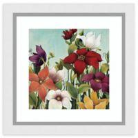 Amanti Art® Maja Flowers 24-Inch Square Acrylic Framed Print in White
