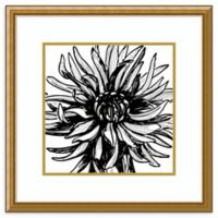 Amanti Art® Sabine Berg Flowers 24-Inch Square Acrylic Framed Print in Gold