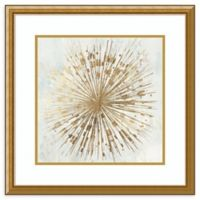 Amanti Art® Tom Reeves Abstract 24-Inch Square Acrylic Framed Print in Gold
