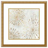 "Amanti Art ""Golden Stars I"" 24-Inch Square Wall Art"