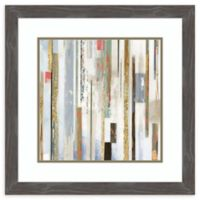 Amanti Art® Tom Reeves Abstract 24.75-Inch Square Acrylic Framed Print in Grey