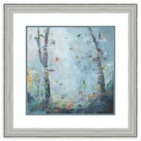Amanti Art® Noah Desmond Abstract 26-Inch Square Acrylic Framed Print in Silver