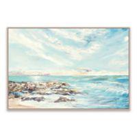 Julie Derice Coast 36.88-Inch x 24.88-Inch Framed Canvas