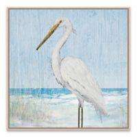 Julie Derice Heron 20.88-Inch Square Framed Canvas