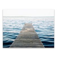 Emily Navas Dock 24-Inch x 18-Inch Wrapped Canvas